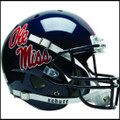 Mississippi (Ole Miss) Rebels Full XP Replica Football Helmet Schutt