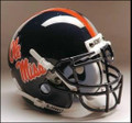 Mississippi Rebels Full Size Replica Schutt Helmet