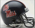 Mississippi Rebels Mini Replica Helmet
