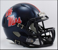 Mississippi Rebels Riddell NCAA Mini Speed Revolution Helmet
