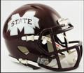 Mississippi St Bulldogs Riddell NCAA Mini Speed Football Helmet