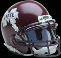Mississippi State Bulldogs Mini Authentic Schutt Helmet