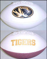 Missouri Tigers Full Size Signature Embroidered Series Football