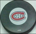 Montreal Canadiens NHL Logo Puck