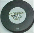 Nashville Predators NHL Logo Puck
