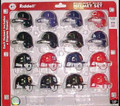 National League MLB Riddell Pocket Pro Helmet Set 16pc