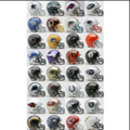 32 pc Complete Set NFL Replica Mini Speed Helmets