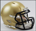 Navy Midshipmen Riddell NCAA Mini Speed Football Helmet