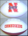 Nebraska Cornhuskers Full Size Signature Embroidered Football