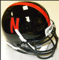 Nebraska Cornhuskers Mini Authentic Helmet Schutt Black