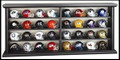 32pc NFL Helmet Set and Display Case