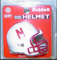 Nebraska Cornhuskers NCAA Pocket Pro Single Football Helmet
