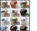ACC Conference 12pc Mini Replica Speed Helmet Set