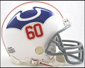 New England Patriots 1960 Throwback Mini Replica Z2B Helmet