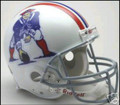 New England Patriots 1965-81 Throwback Full Size Authentic Helmet