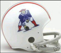New England Patriots 1965-81 Throwback Mini Replica Helmet