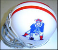 New England Patriots 61-64 and 2009-10 Throwback AFL Mini Replica Helmet