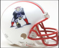 New England Patriots 1990-92 Mini Replica Helmet