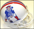 New England Patriots Full Size Replica Throwback Helmet 82-89