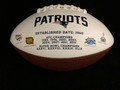 New England Patriots Full Size Logo Football