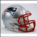 New England Patriots Mini Speed Football Helmet
