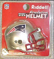 New England Patriots NFL Pocket Pro Single Football Helmet