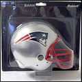 New England Patroits Helmet Bank