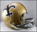 New Orleans Saints Full Size TK Suspension Throwback Helmet 1967-75