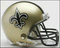 New Orleans Saints Mini Replica Helmet