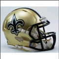 New Orleans Saints Mini Speed Football Helmet
