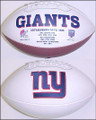 New York Giants Full Size Logo Football