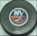 New York Islanders NHL Logo Puck