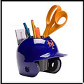 New York Mets Mini Helmet Desk Caddy