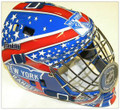 New York Rangers NHL Full Size Street Extreme Youth Goalie Mask 2013