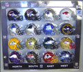NFC Conference 16pc Pocket Pro Set Football Helmet