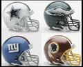 NFC East Riddell NFL Mini Replica Helmet Set