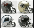 NFC South Riddell NFL Mini Replica Helmet Set