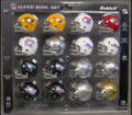NFL Super Bowl Pocket Pro Sets Series (1-3) One, Two & Three