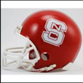 North Carolina St Wolfpack Red Mini Replica Football Helmet