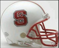 North Carolina State Wolf Pack Mini Replica Helmet