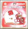North Carolina State Wolf Pack Pocket Pro Single Football Helmet