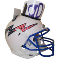 Air Force Falcons Mini Football Helmet Desk Caddy W/Flag