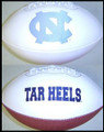 North Carolina Tar Heels Full Size Signature Embroidered Football