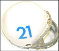 KANSAS JAYHAWKS #21 1961 Tribute RIDDELL MINI HELMET