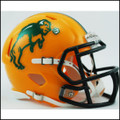 North Dakota State Bison NCAA Mini Speed Football Helmet
