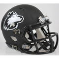 Northern Illinois Huskies Matte Black Mini Speed Helmet