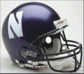 Northwestern Wildcats Full Size Authentic Helmet