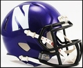 Northwestern Wildcats Riddell NCAA Mini Speed Football Helmet