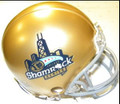Notre Dame Fighting Irish Chicago Shamrock Series Riddell NCAA Replica