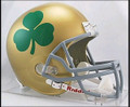 Notre Dame Fighting Irish Shamrock Riddell NCAA Collegiate Deluxe Repl